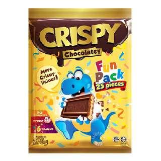 Crispy Chocolatey Rice Cereal - Fun Pack