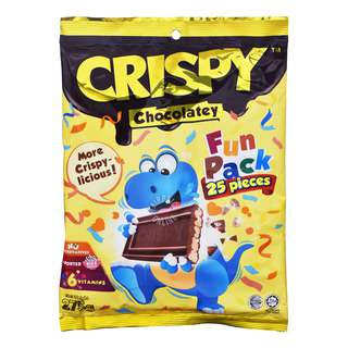 Crispy Chocolatey Rice Cereal - Fun Pack