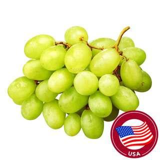 Pristine Green Seedless Grapes