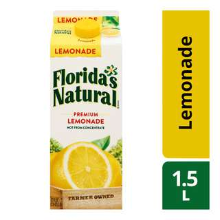 Florida's Natural 100% Fresh Juice - Lemonade