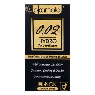 Okamoto Condom - Hydro Polyurehthane