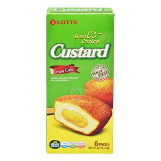 For all people's happiness, we are baking fresh custard cakes everyday