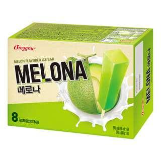 Binggrae Melona Stickbar Ice Cream - Melon