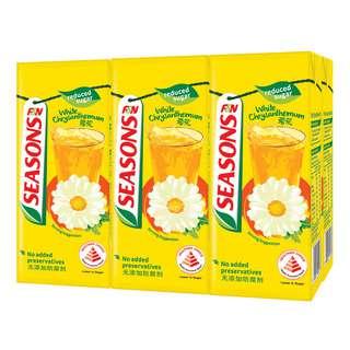 F&N Seasons Packet Drink - White Chrysanthemum Tea LessSugar