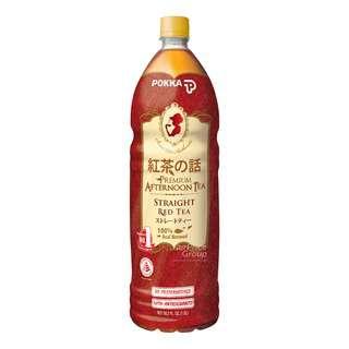 Pokka Premium Bottle Drink - Straight Red Tea