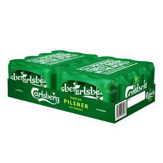 Carlsberg Can Beer - Green Label