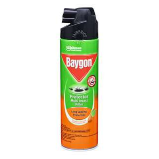 Baygon Protector Multi Insect Killer - Long Lasting Protection