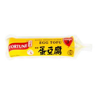 Fortune Silken Egg Tofu - Extra Smooth with Omega 3 (Tube)