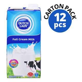 Dutch Lady UHT Milk - Full Cream (Plain)