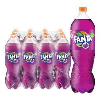 Fanta Bottle Drink - Grape