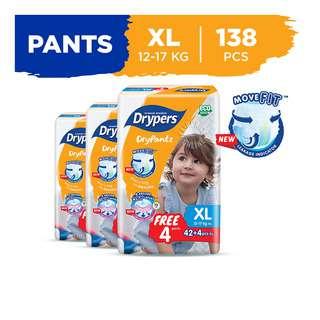 Drypers Drypantz Pants- XL (12 - 17kg)