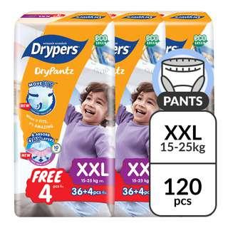 Drypers Drypantz Pants- XXL (15 - 25kg)