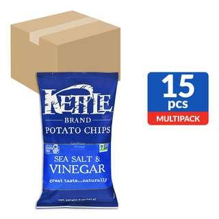 Kettle Brand Potato Chips - Sea Salt & Vinegar