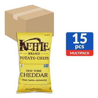 Kettle Brand Potato Chips - New York Cheddar