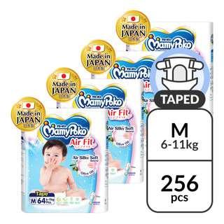 MamyPoko Air Fit Diapers - M (6 - 11kg)
