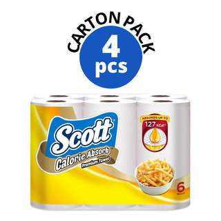 Scott Kitchen Premium Towel Rolls - Calorie Light
