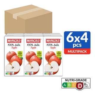 Marigold 100% Packet Juice - Apple