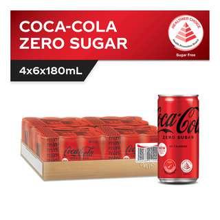Coca-Cola Mini Can Drink - Zero Sugar