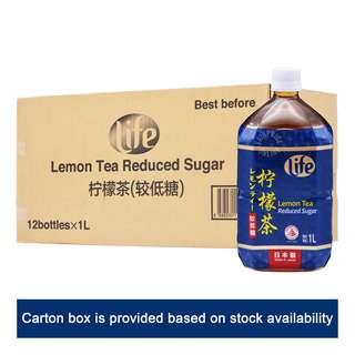Life Lemon Tea Bottle Drink - Reduced Sugar