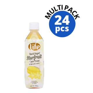 Life Bottle Drink - Rock Sugar Starfruit Juice
