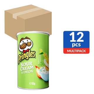 Pringles Potato Crisps - Sour Cream & Onion