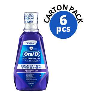 Oral-B Pro-Health Clinical Mouth Rinse - 7 in 1