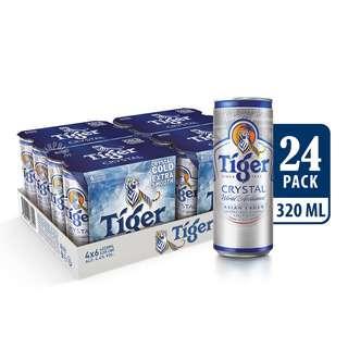 Tiger Can Beer - Crystal