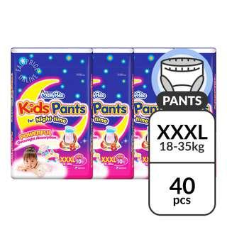 MamyPoko Kids Girls Diaper Pants -XXXL(18-35kg)
