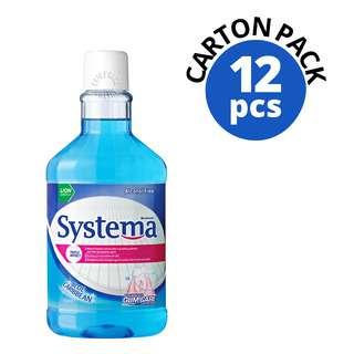 Systema Gum Care Mouthwash - Blue Caribbean