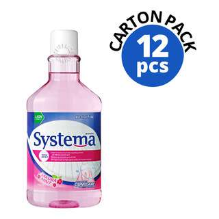 Systema Gum Care Mouthwash - Sakura Mint