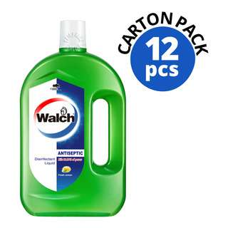 WALCH ANTISEPTIC LEMON 1L 12S