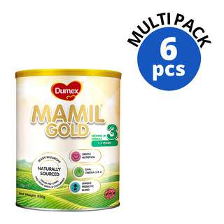 DUMEX MAMIL GOLD STAGE 3 GROWING UP FORMULA MILK 6S 850G