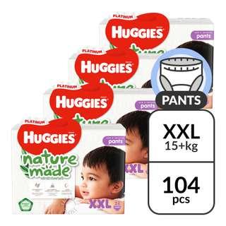 Huggies Platinum Nature Made Pants - XXL (15kg)