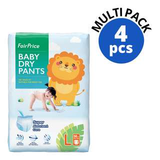 FAIRPRICE BABY EASY WEAR PANTS SIZE L 56S 4S