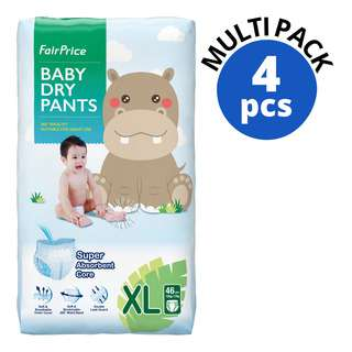 FAIRPRICE BABY EASY WEAR PANTS SIZE XL 46S 4S
