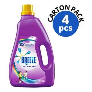 BREEZE LIQUID DETERGENT - COLOR CARE 3.8KG 4S