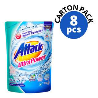 ATTACK CONCENTRATED LIQUID REFILL ULTRA POWER 1.6KG 8S