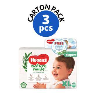 Huggies Baby Platinum Naturemade Diapers - XL