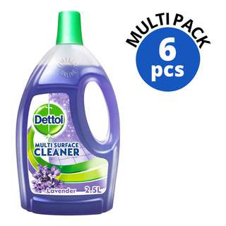 Dettol 4 in 1 Multi Surface Cleaner - Lavender