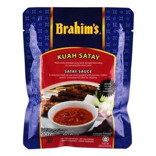Brahim's Sauce - Satay