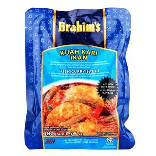 Brahim's Curry Sauce - Fish