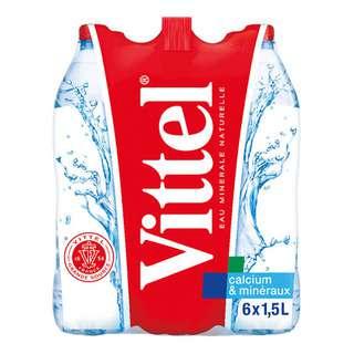 Vittel Natural Mineral Bottle Water
