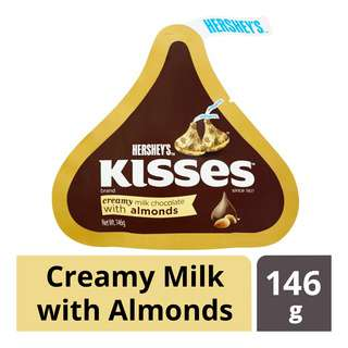Hershey's Kisses Chocolate - Milk with Almond