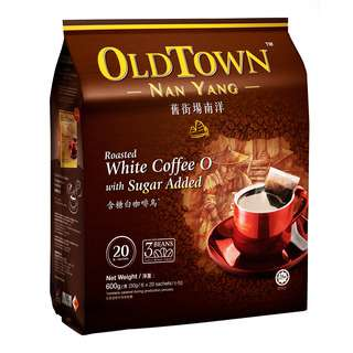 Old Town Nanyang Instant White Coffee O - Sugar Added