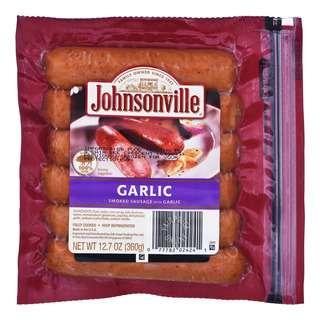 Johnsonville Smoked Pork Sausage - Garlic Brats
