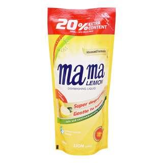 Mama Lemon Gold Dishwashing Liquid Refill - Natural Lemon