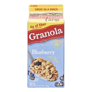 Sweet Home Farm Granola - Blueberry with Flax