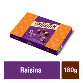Van Houten Milk Chocolate Gift Box - Raisins