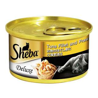 Sheba Cat Can Food - Tuna with Prawn in Jelly