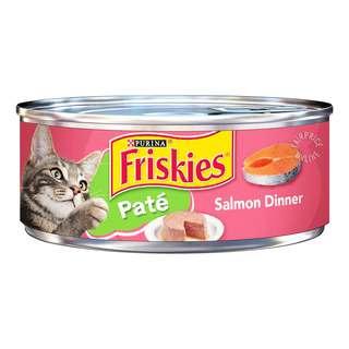 Friskies Can Cat Food - Pate Salmon Dinner